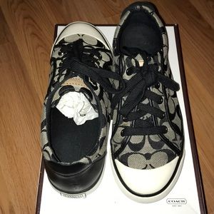 Coach Barrett Leather Sneakers